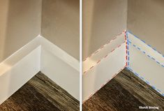 Don't hire a contractor to install baseboard. This step-by-step guide contains everything you want and need to know about how to install baseboard yourself. Luxury Homes Interior, Home Interior Design, Base Shoe Molding, Moulding, Cleaning Car Windows, How To Install Baseboards, Wood Baseboard, Narrow Hallway Decorating, Wood Repair
