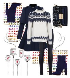 """""""A'Twhirl"""" by april-wilson-nolen ❤ liked on Polyvore featuring rag & bone, Barbour, Gianvito Rossi and Karl Lagerfeld"""
