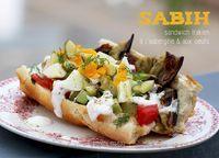 Sabih, sandwich irakien aux aubergines et aux oeufs