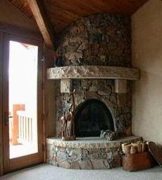 Best 25 Corner Stone Fireplace Ideas On Pinterest Fire
