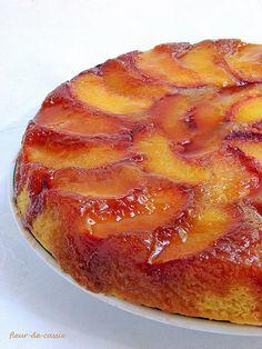 персиковый перевернутый пирог 2