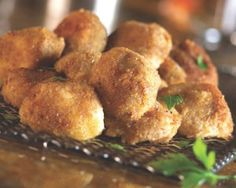 One-Bite Spiced Fried Cheese    #appetizer #recipe #cheese