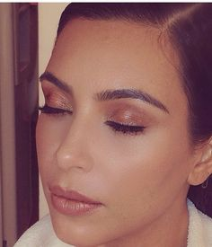 Kim K. Eyebrows