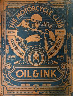 Brendan Prince, Oil & Ink