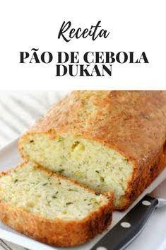 Receita Pão de Cebola Dukan é uma delícia e fica muito macio, é um ótimo substituto para os pães de farinha branca que contém muito carboidrato, principalmente para as pessoas que querem manter a forma ou mesmo qualidade de vida.