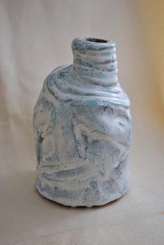Emily  OOAK ceramic jar pottery jar hand made pottery red