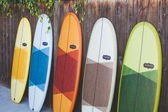 Secret Menú surfboards, by Almond, Ca.