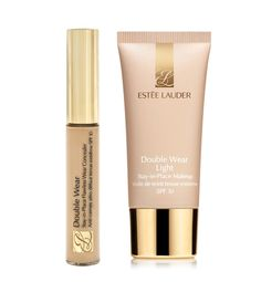 """wedding day: """"Great makeup begins with great skin care. I love Estée Lauder Advanced Night Repair for hydrating and prepping skin—it's also great for setting makeup. I just add a little to a powder brush and dab it over foundation and powder.""""  """"Estée Lauder DoubleWear Concealer paired with DoubleWear Light Stay-in-Place Makeup creates lovely skin that looks amazing in person and in photos."""""""