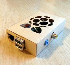 Raspberry Pi model B Karton Gehäuse mit von Lichterschatten auf Etsy, €1.99