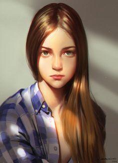 GIRL by Liang-Xing