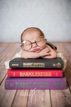 SO CUTE!!!  Harry Potter Inspired Newborn Session http://katiekillionphotography.com