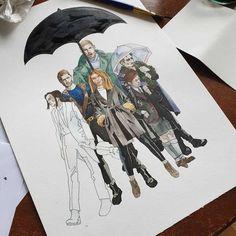 The Umbrella Academy, Netflix Show and Dark Horse Comic Umbrella Art, Under My Umbrella, Dysfunctional Family, Chill, Baby Art, Dark Horse, My Chemical Romance, New Baby Products, Netflix