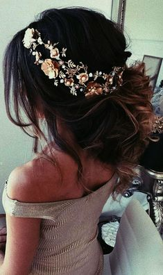 Wedding Hairstyles And#8211; Romantic Bridal Updos  See more:   #weddings