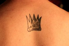 Max's crown from Where the Wild Things Are Done by KC at The Painted Bird Tattoo, Medford MA