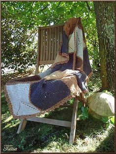 crochet block blanket