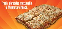 Little Caesars has Italian Cheese Bread, which is made everyday.