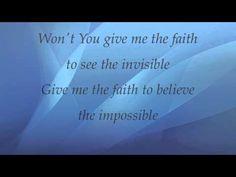 ▶ Shane & Shane - Faith to Believe - with lyrics - YouTube