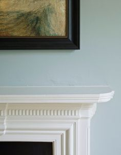 Check out the Farrow & Ball Borrowed Light No. 235 Paint in Paint, Paint & Wallpaper from Farrow & Ball for Farrow Ball, Farrow And Ball Paint, Light Paint Colors, Blue Wall Colors, Architectural Digest, Borrowed Light Farrow And Ball, Pale Blue Paints, Light Blue Walls, White Light
