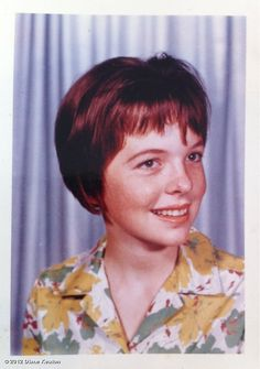 Diane Keaton's photo: Me circa 1961.  Things got better.