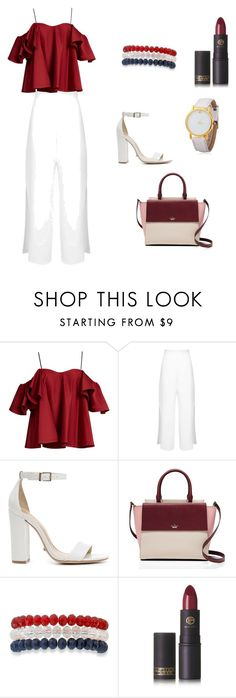 """""""Untitled #1"""" by daut-selma ❤ liked on Polyvore featuring beauty, Anna October, Miss Selfridge, Schutz, Kate Spade, Kim Rogers and Lipstick Queen"""