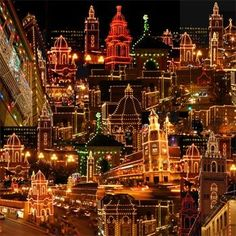 plaza lights in winter- Kansas City Missouri every year. It's very pretty here in the winter months