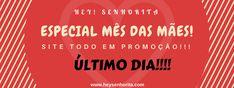 #heysenhorita #promoção #aindadatempo #corra #vemcomagente #mesdasmaes #maio #ultimodia #imperdível #vem #modafeminina #bijuterias #acessórios #lojaonline #website #facebook #instagram #vamosarrasar #borala #fashion