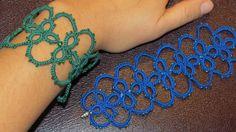 Needle Tatting Bracelet