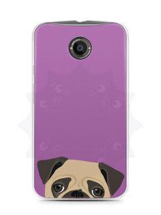 Capa Capinha Moto X2 Cachorro Pug - SmartCases - Acessórios para celulares e tablets :)