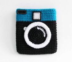 Câmeras de Crochê. Inspiração.