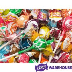 You're going to love these—Charms Mini Pops Assorted Lollipops Cotton Candy Grapes, Wholesale Candy, Lollipop Cake, Types Of Candy, Rainbow Candy, Bulk Candy, Fruit Punch, Strawberry Lemonade, Lollipops