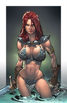 Red Sonja by Mark S. Miller *