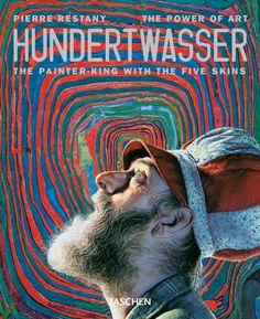 Hundertwasser Pierre Restany Softcover, flaps, x 23 cm, 96 pages Friedensreich Hundertwasser, Gustav Klimt, King Book, Powerful Art, Lifelong Friends, Art Series, France, His Eyes, Art Lessons