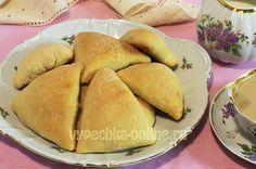 Пирожки из творожного теста в духовке #Pies #Cheese #Puff #Pastry #Stuffed #Cabbage #Egg #Baking #Yummy #Recipes #CakesOnline #Пирожки #Творог #Бездрожжевое #Тесто #Начинка #Капуста #Яйца #Выпечка #Вкусняшка #Рецепты #ВыпечкаОнлайн