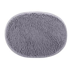 "Lingery 1PC 11.8""x15.7""/30x40cm Small Oval Non Slip Fluffy Shaggy Home Bedroom Bathroom Floor Door Shower Rugs Carpet Bath Mat Rugs (Gray):   <b>Feature</b>:<br> Material:Polyester<br> Shape:Oval<br> Size:11.8""*15.7""/30*40cm<br> Color:As the picture show<br> Fluffy Rug,Non-Skip,Dust cleaning,Easy To Clean.<br> Suitable For Bedroom,Den,Living Room,Dining Area,Bathroom,etc.<br><br> <b>Notice</b>:<br> The picture shows the real items without any special processing.<br> But color and brigh..."