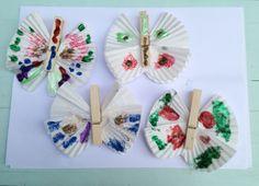 Summer Holiday Make & Do: Butterflies — The Startup Wife Children's crafts DIY