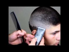 How To Fade Hair - Blending Fades With Clippers - YouTube