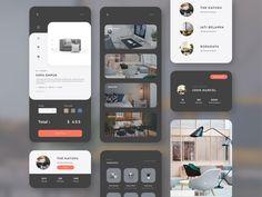 KAYUKU - Furniture Mobile Store by Permadi Satria Dewanto Best Mobile, Mobile App, Mobile Ui Design, Ux Design, Store Design, Studio, Furniture, Apps, Photoshop