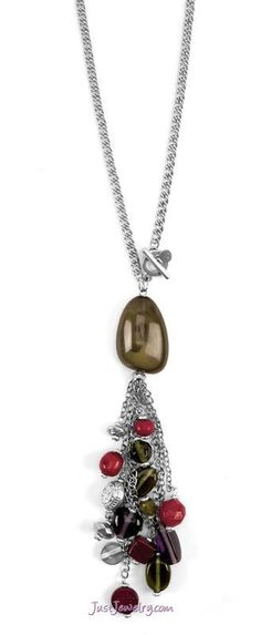 Set in Stones Necklace $26 (N-010022 - The Finishing Touch) pg. 10