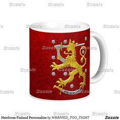 Heirloom Finland Personalize Coffee Mug