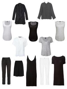 A Summer Common Capsule Wardrobe