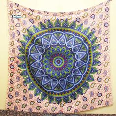 Memories floral Large Tapestry Trippy Tapestry, Dorm Tapestry, Tapestry Bedroom, Bohemian Tapestry, Mandala Tapestry, Cool Tapestries, Cheap Room Decor, Home Goods Decor, Inspired Homes