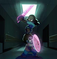 Steven Universe, Connie and Steven