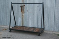 industrial clothing rack - Google Search