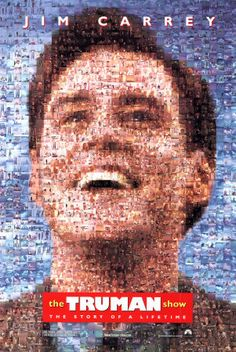 The Truman Show. This movie is SO good. I love the 'Big Brother' feel of it. Jim Carrey portrays Truman Burbank perfectly, and it gets me thinking every time I see it. Movies And Series, All Movies, Great Movies, Movies To Watch, Movies Online, Movies And Tv Shows, Comedy Movies, Imdb Movies, Tv Series