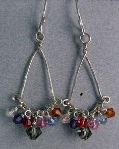 Dana's Jewelry Design: Long Overdue Tutorial - Dangle Chain Earrings
