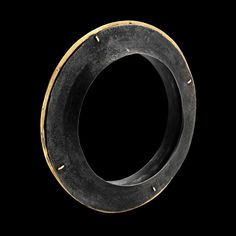 Gigi Mariani. Bracelet: Etnic#1, 2016. Silver, 18kt yellow gold, niello patina..