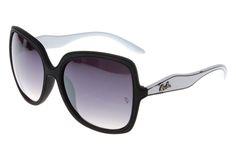 Ray Ban Jackie Ohh RB2085 Sunglasses White/Black Frame Gray lens