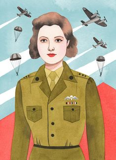 Nancy Wake, a British Special Operations Executive agent in WWII who led guerilla resistance troops against the Nazis. Good Night Stories For Rebel Girls, Monica Garwood Cindy Sherman, Nancy Wake, Pop Art, History Projects, Magic Art, Image Makers, Arte Pop, Art For Art Sake, Women In History