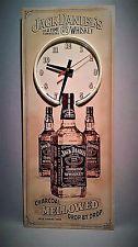 JACK DANIEL'S NOSTALGIC TIN SIGN NEON CLOCK