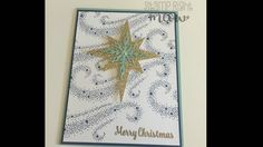 Star of Light Christmas Card With Stampin' Up!